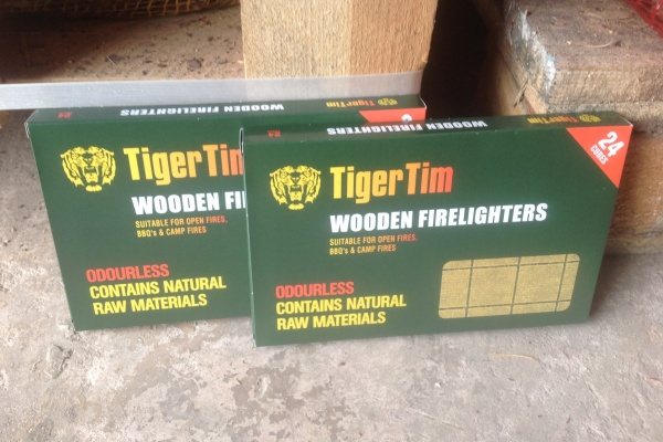 Tiger Tim Wooden Firelighters