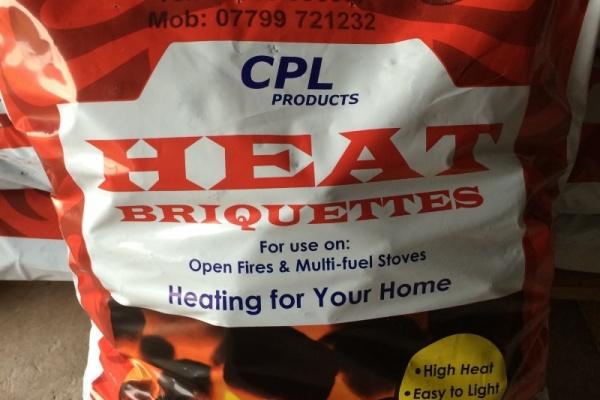 Pre-packed Heat Briquettes (20kg)